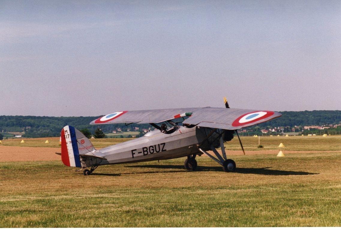 F-BGUZ Morane Saulnier MS317 n°306 de 1946
